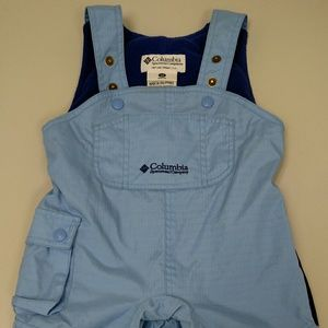 Infant 12 months Columbia bib style snow pants